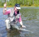 michael gorman, mckenzie / trout and steelhead fly fishing / McKenzie River fly fishing guide