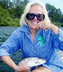 sue o'brien, santiam / trout and steelhead fly fishing / McKenzie River fly fishing guide